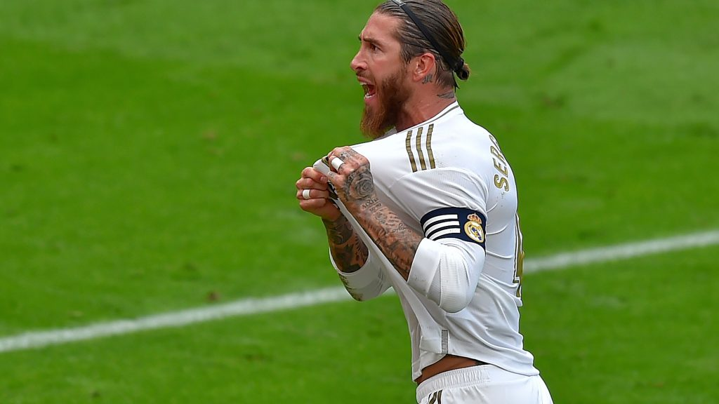 Ramos ist bei Real und im Nationalteam eine lebende Legende. Foto: ANDER GILLENEA/AFP via Getty Images