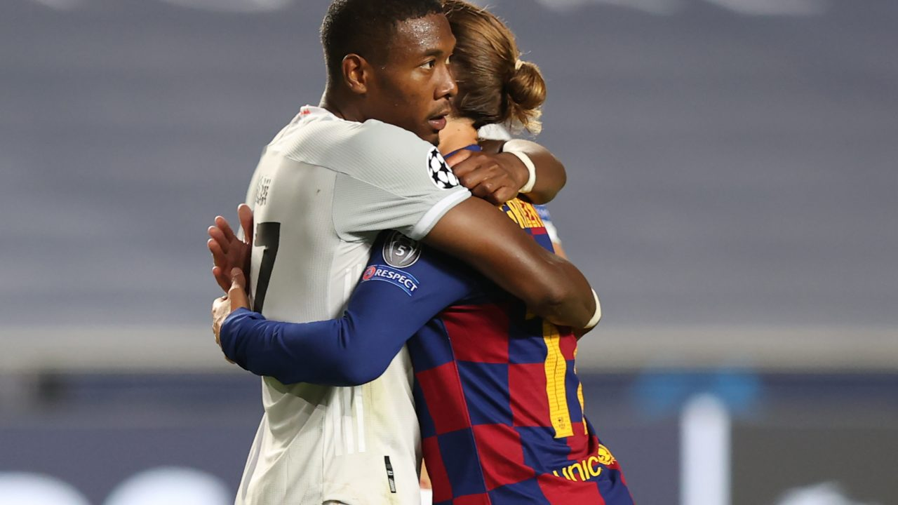 David Alaba unterlief gegen Barcelona ein Eigentor. Foto: RAFAEL MARCHANTE/POOL/AFP via Getty Images