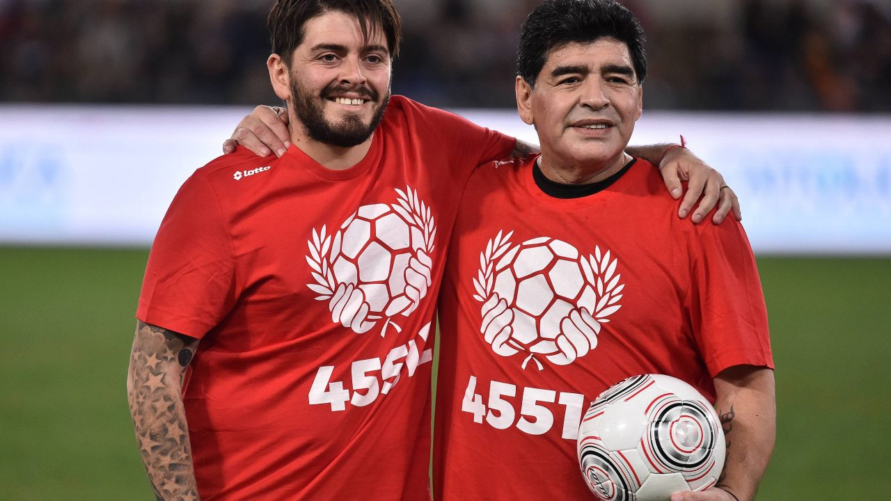 "Maradonas Sohn nimmt Abschied: ""Kapitän meiner Herzen wird niemals sterben"""