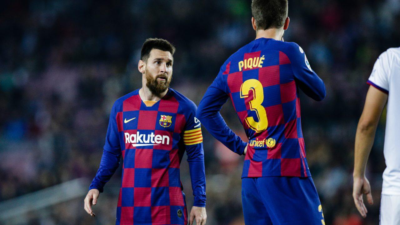 """Pique hofft auf Messi-Verbleib: """"Hoffen, ihn überzeugen zu können"""""""
