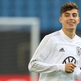 Havertz verpasst die Partie in der Schweiz. Foto: Alexander Hassenstein/Bongarts/Getty Images