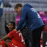 Trainer Hans-Dieter Flick will David Alaba halten.